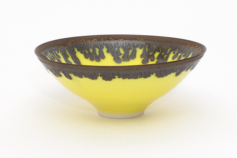 Peter Wills Yellow Ceramic Bowl 131