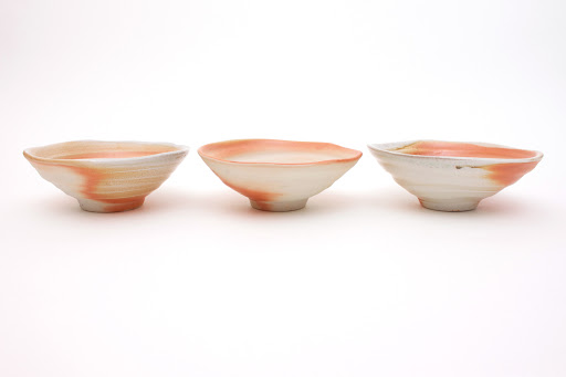Sandy Lockwood Set of 8 Ceramic Bowls entitled 'Transition'