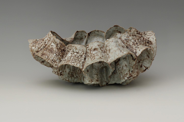 Beverley Bell-Hughes Ceramic Vessel 'Sea Cribb' 02