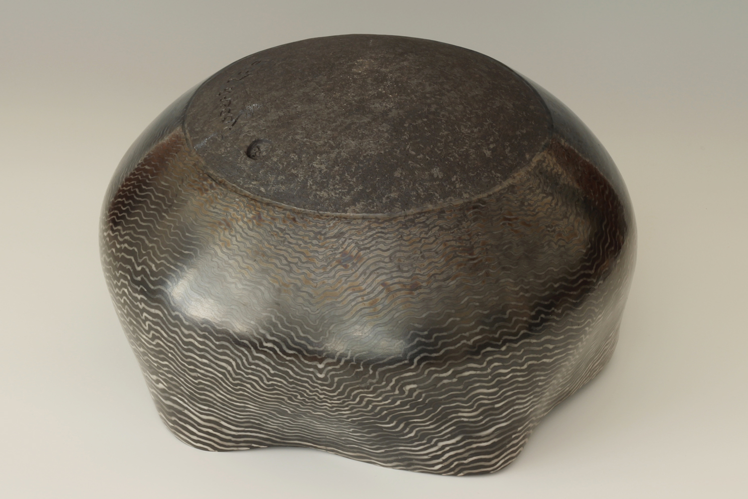 David Roberts Ceramic 'Ripple Bowl'