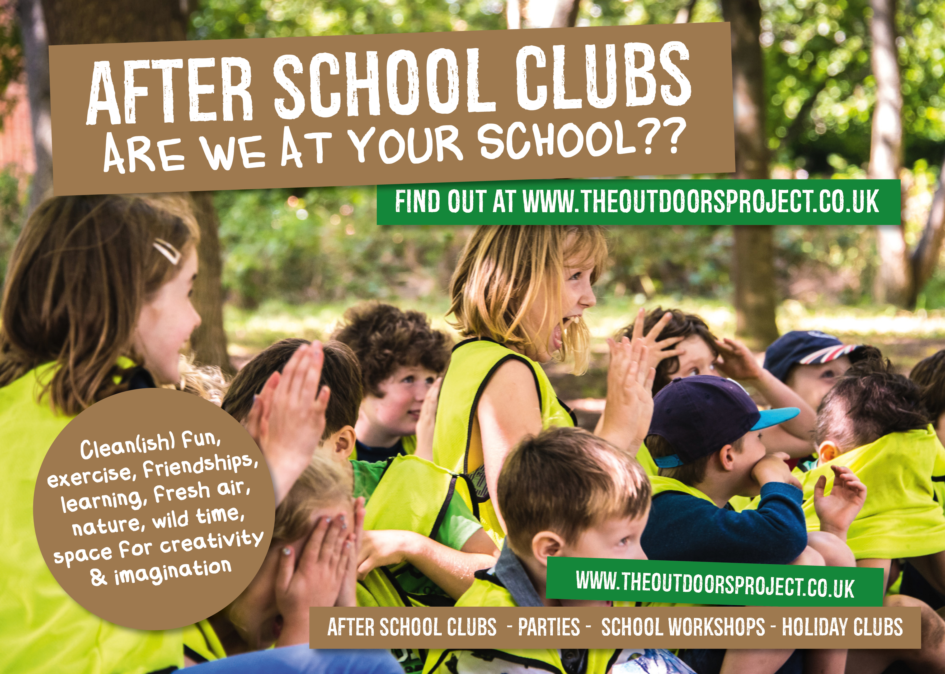 AFTER SCHOOL CLUBS - SUMMER TERM NOW BOOKING
