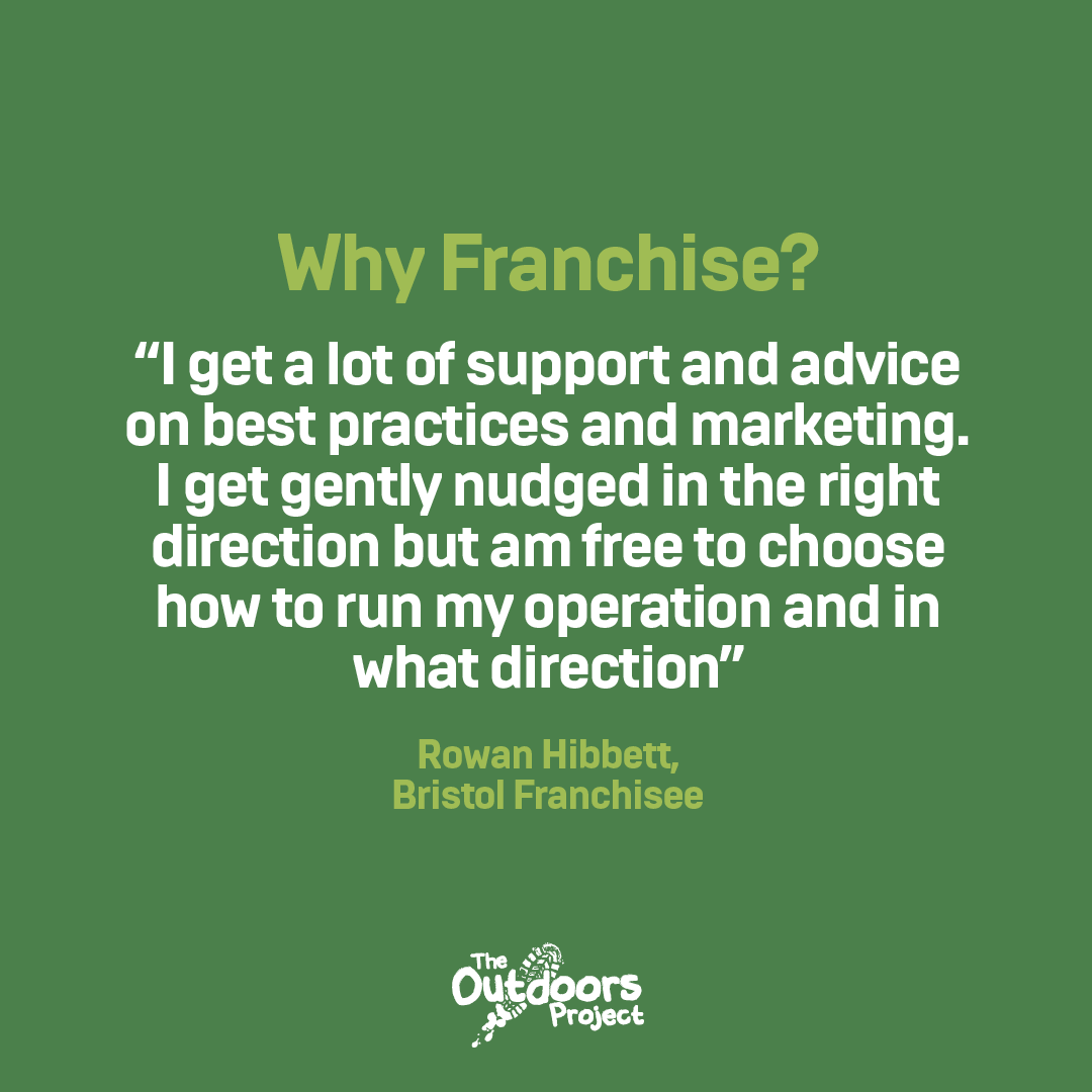 Why is The Outdoors Project an exciting Franchise Model?