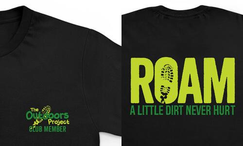 ROAM Club Member T-shirts