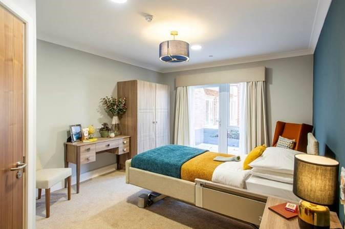 Park Grove complete fitout of 4th new build care home for Hamberley Development