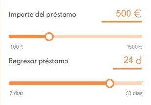 Consigue un prestamo en linea de hasta €1,500 euros