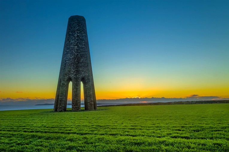 Evening Daymark, Kingswear