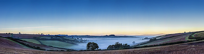 Morning mist over Stokeinteignhead