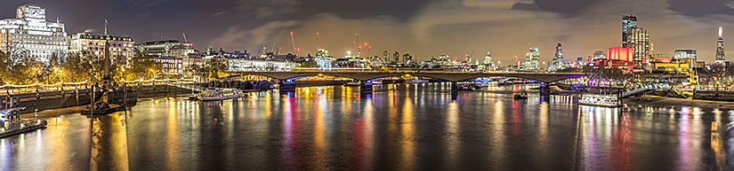 Waterloo Bridge with The Shard
