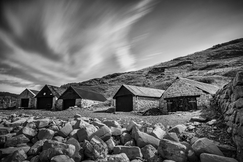 Kimmeridge Marine huts