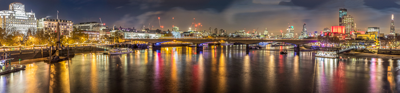 Waterloo Bridge with The Shard