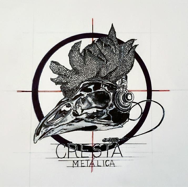 Artistas En Fuga - Título 15 años de @crestametalica Autor @hilda_m66