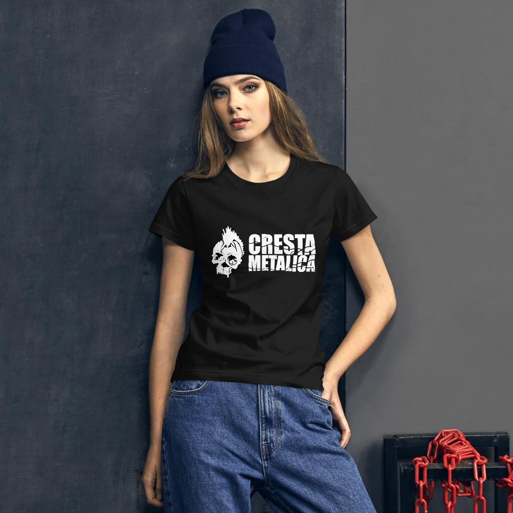 Cresta Metalica Womens short sleeve t-shirt - Cresta Store - Deskarriados