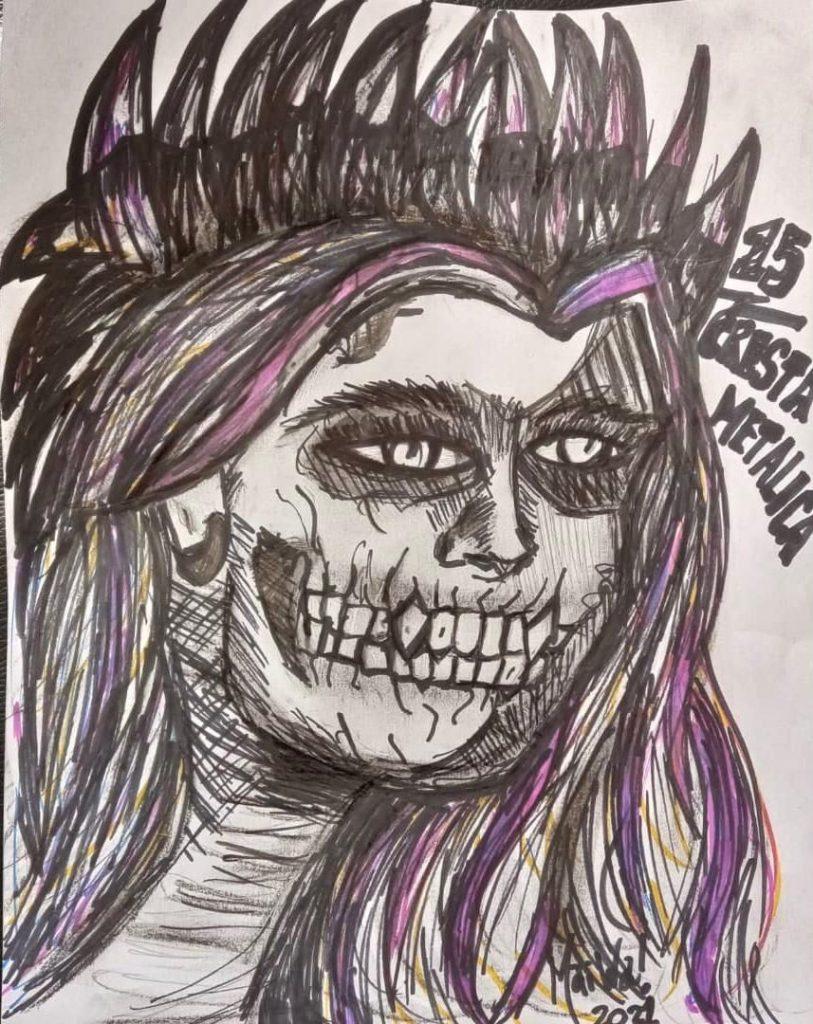 Artistas En Fuga - Titulo 15 de Cresta Metalica Autor @tuttidri #ArtesMaiwa