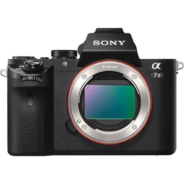 Sony a7 II Full-Frame Mirrorless Camera