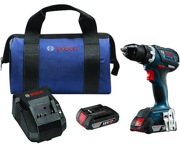 Bosch DDS183-02 18-Volt Brushless Compact Drill/Driver Kit Drill/Driver Kit