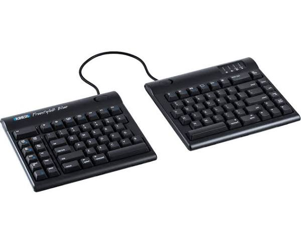 Kinesis Freestyle 2 Blue Ergonomic Keyboard
