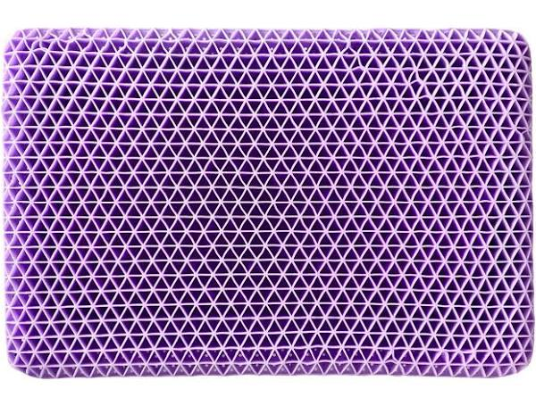 Purple Hyper-Elastic Polymer Pillow