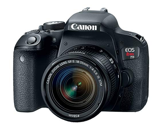 Best Beginner DSLR Canon EOS Rebel T7i DSLR Camera