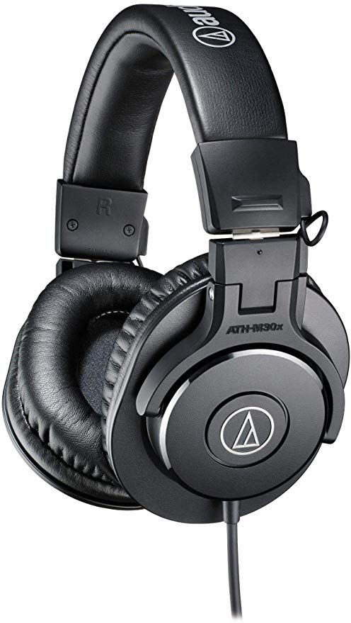 Best Headphone Under $200 Audio-Technica ATH-M30x Closed-Back Over-Ear Headphones