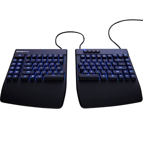 Best Ergonomic Keyboard Kinesis Freestyle Edge RGB Ergonomic Gaming Keyboard