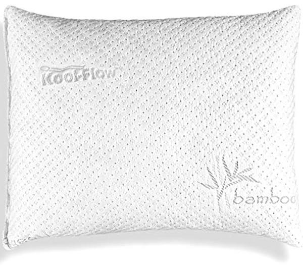 Best Pillow for Combination Sleepers Xtreme Comforts Comforts Shredded Memory Foam Pillow