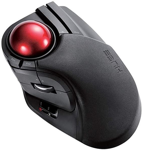 Elecom M-HT1DRBK Trackball
