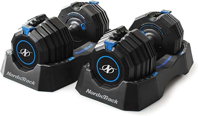 NordicTrack Select-A-Weight Speed Weights Adjustable Dumbbells