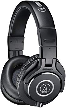 Best Headphone Under $200 Audio-Technica ATH-M40x Closed-Back Over-Ear Headphones
