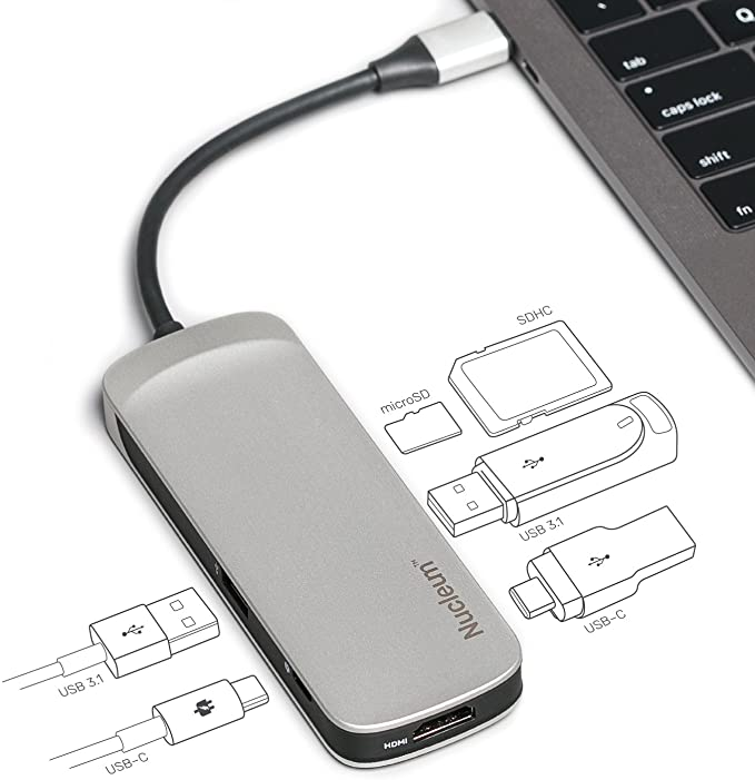 Kingston Nucleum USB-C Hub