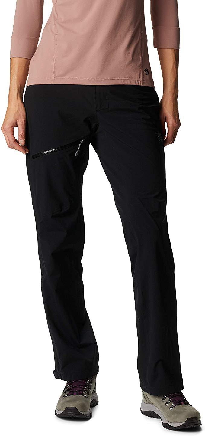 Best Women's Rain Pants Mountain Hardwear Stretch Ozonic Women's Pants