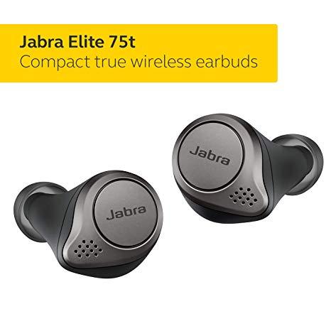 Best Wireless Earbuds Jabra Elite 75t Earbuds