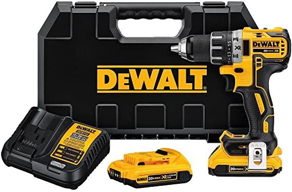 Best Drill Dewalt MAX HR LI-ION Brushless Compact Drill / Driver Kit