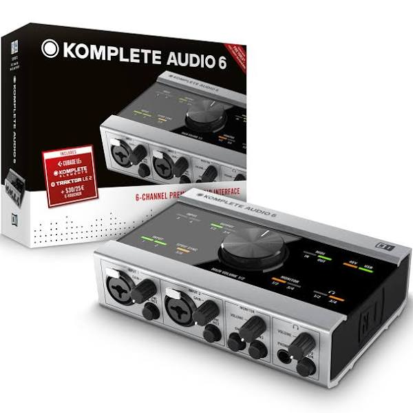 Best USB Audio Interface Native Instruments Komplete Audio 6 USB Audio Interface