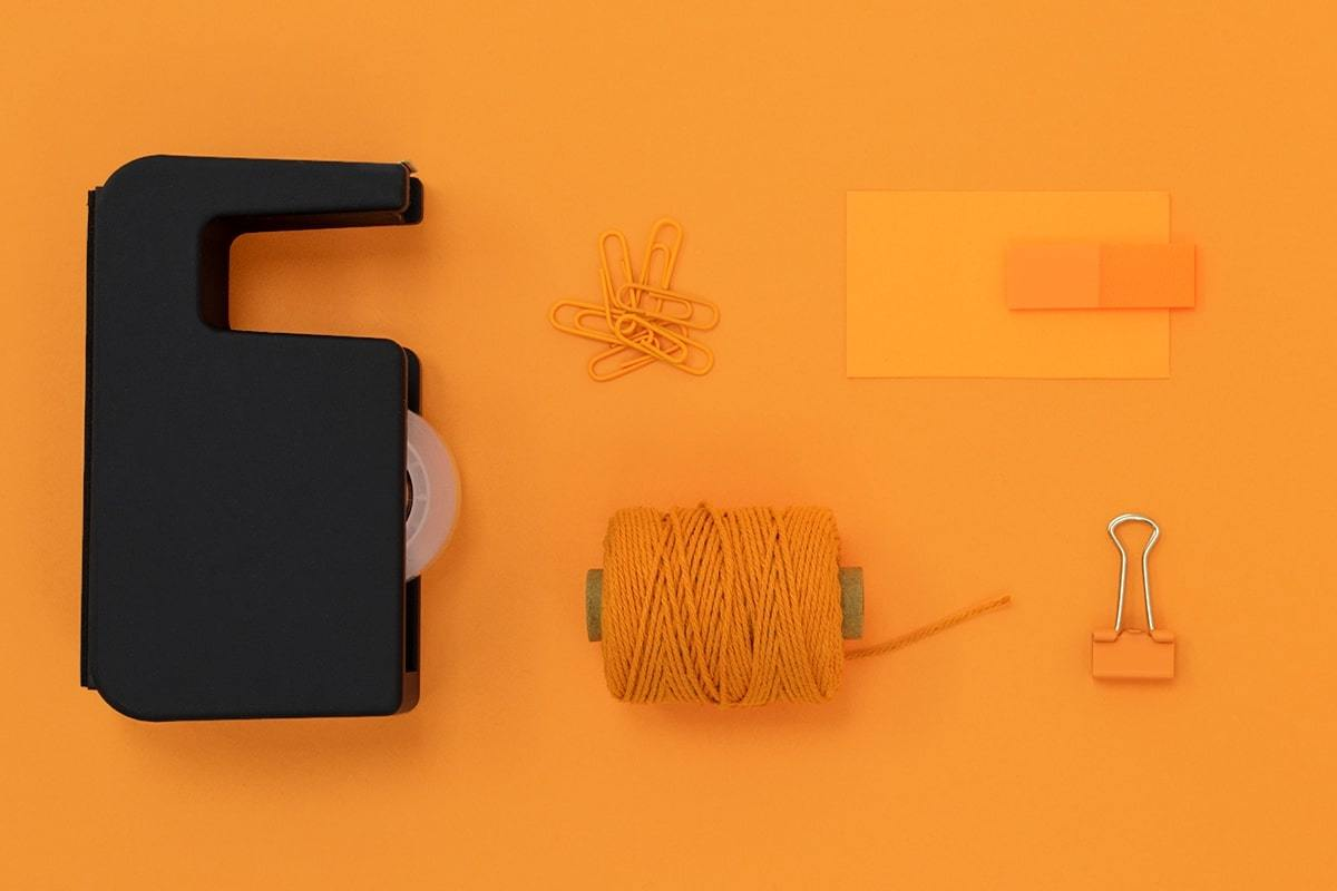 Landscape verbinden oranje grijs