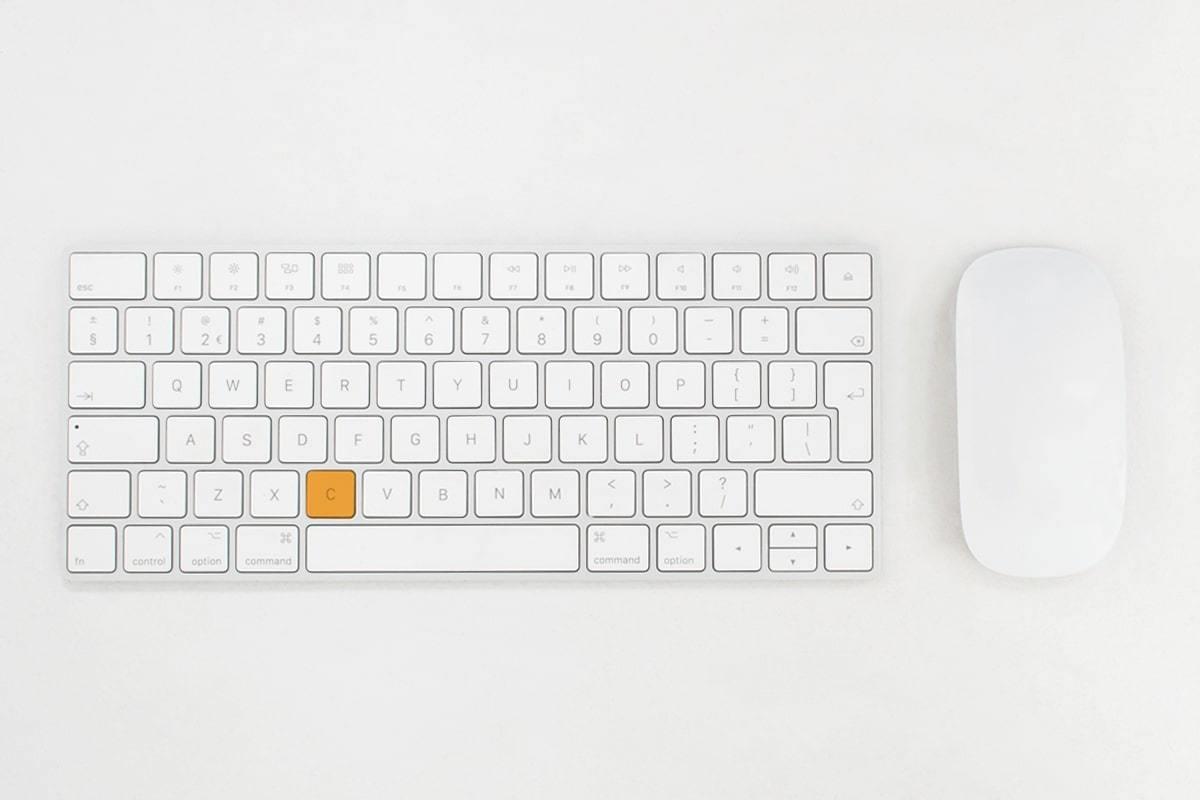 Landscape digital wit oranje