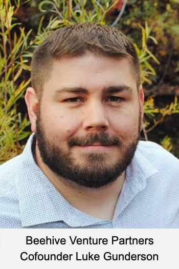 Luke Gunderson, co-founder of Beehive Venture Partners