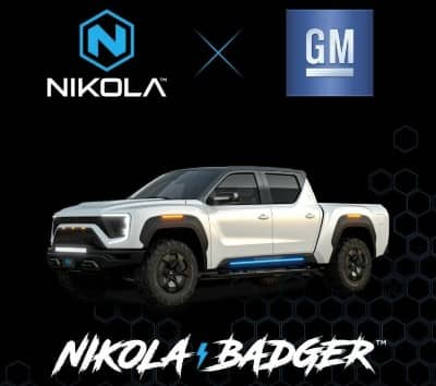 Nikola Badger in Partnership with GM