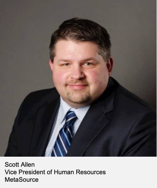 Scott Allen, VP of Human Resources