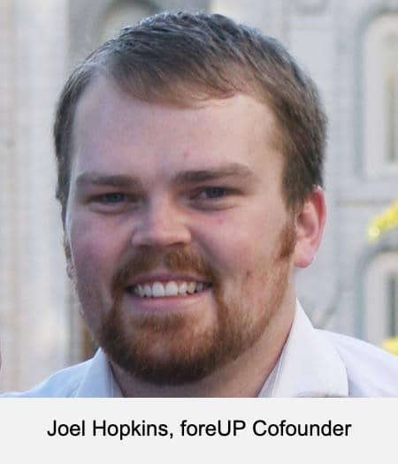Joel Hopkins, foreUP Cofounder