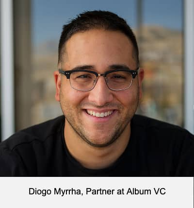 Diogo Myrrha, Partner at Album VC