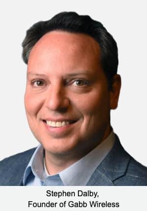 Stephen Dalby,  Founder of Gabb Wireless