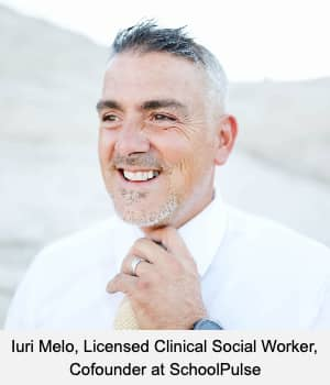 Iuri Melo, Licensed Clinical Social Worker, Cofounder at SchoolPulse