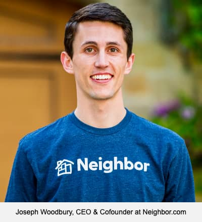 Joseph Woodbury, CEO & Cofounder at Neighbor.com