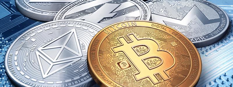 Криптовалюты и монеты: Биткоин, Рипл, Эфир