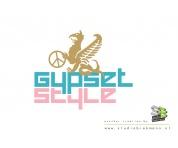 Ontwerp logo voor kleding groothandel gypsetstyle