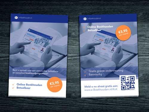 Online flyer design