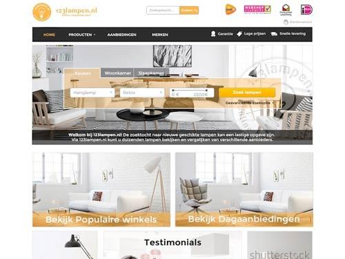 Online webdesign wedstrijd