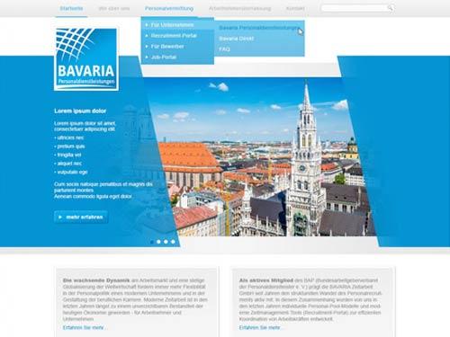 Webseite-Design