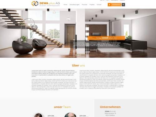 Online Webdesign-Wettbewerb
