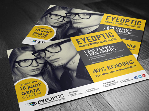 Flyer ontwerpwedstrijd